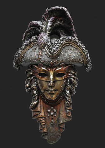 Mask Ornament wall decoration –  Venice Carnival Mask – Venetians Mask