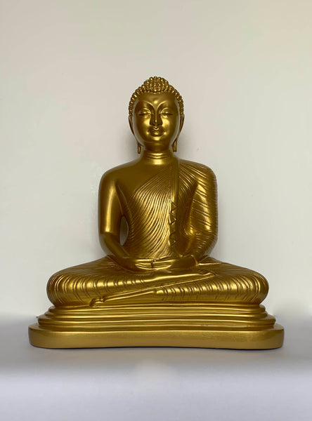 Large Gold Buddha Statues – Asian Buddha Sculpture