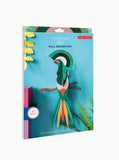 Paradise Bird Gili  – Tropical Bird Wall Decoration 3D Object to Build