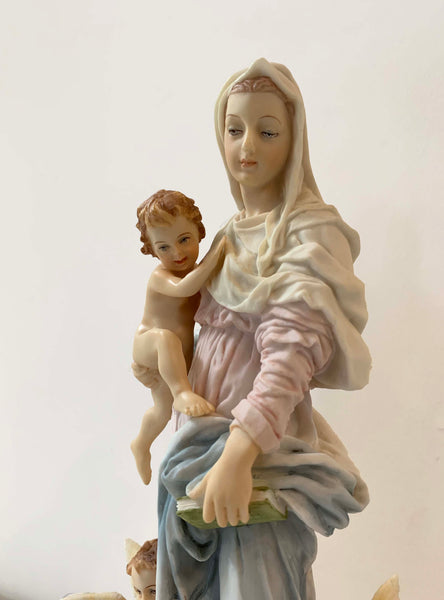 Madonna of the Harpies – Madonna delle Arpie – Renaissance Statue of Mary