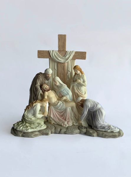 Jesus Statue – Descent From The Cross In Calvary