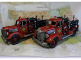 Fire Fighter Gift, Vintage Fire Truck, Fire Engine, Retro Toy Fire Fighter, Man's Cave, American Fire Truck, Model Car: Reproduction