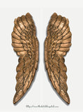 Angel Wings Gold  –  Very Large Angel Wings  – Victoria's Secret Angels