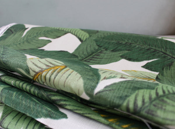 Tommy Bahama Swaying Palms Aloe Fabric-Indoor & Outdoor-Curtain Fabric-Price per Yard
