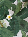 Tommy Bahama Swaying Palms Aloe Fabric, OUTDOOR Fabric, Price per Yard