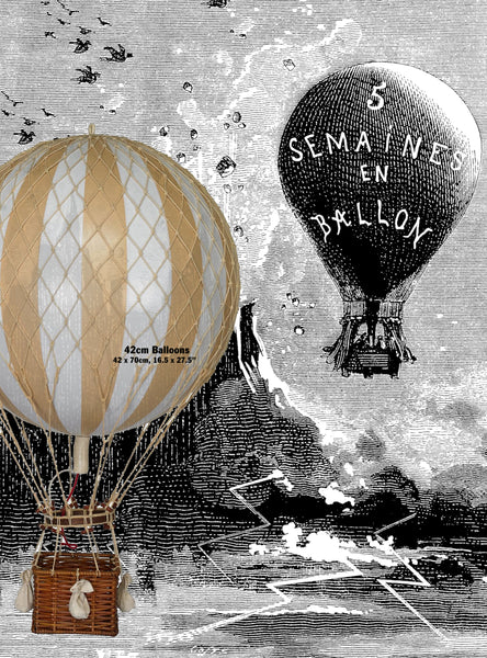Vintage Hot Air Balloon Replica – Vintage Balloons –  Home Decoration – MODEL HOT AIR BALLOONS