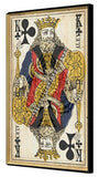Queen Of Hearts 3D Playing Card Wall Art - Playing Card Home Decor - King - Ace - Queen in one Picture