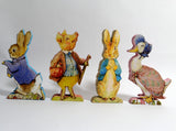 Beatrix Potter  Peter Rabbit Decor – Table Centrepiece – Peter Rabbit Free Standing Figures