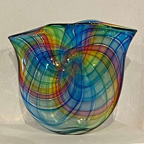 Pi Spectrum Vase by Bob Crooks available to buy at Iona House Gallery in store or online