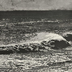 Dramatic wave study by Trevor Price at Iona House Gallery