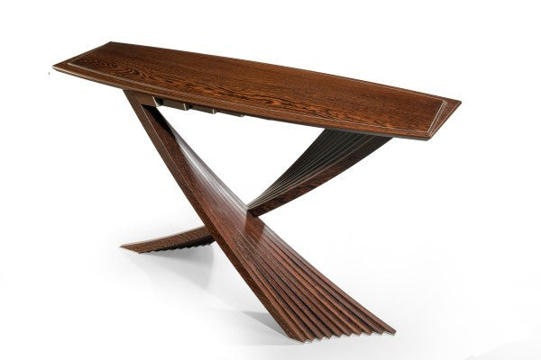 Sean Feeney 'Panga, Wengé & Aluminium Table' H29 x W49in (74 x 124cm)