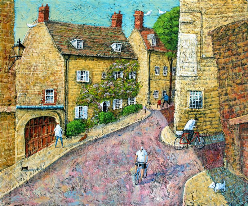 Adrian Sykes 'Chaucer's Cottage' 50x60cm Limited Edition Print of 250