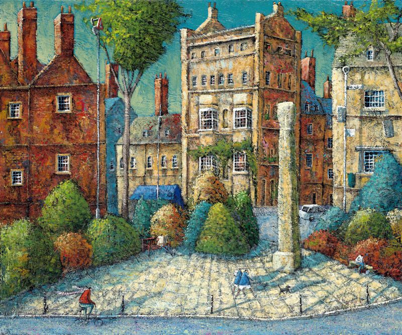 Adrian Sykes 'The Square, Woodstock' 50x60cm Limited Edition Print of 250