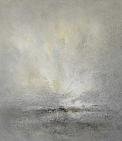 Adrian Walker 'Lancing Marble Sky' oil on canvas 102x90cm