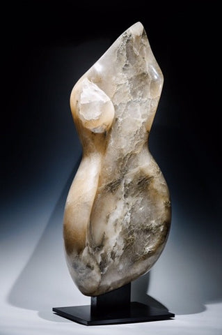 Aly Brown 'Annona' Alabaster 92x40x20cm