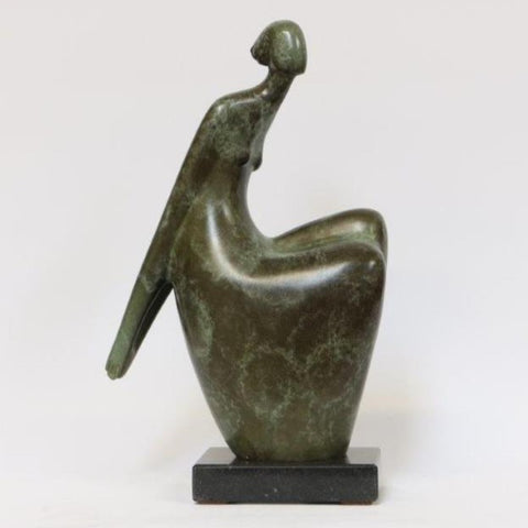 Ana Duncan 'Left or Right II' bronze (1 of 8) 27x16x7cm