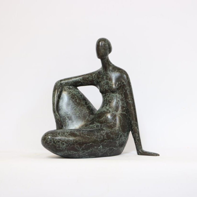 Ana Duncan 'Your Move' bronze (1 of 9) 24x23x15cm