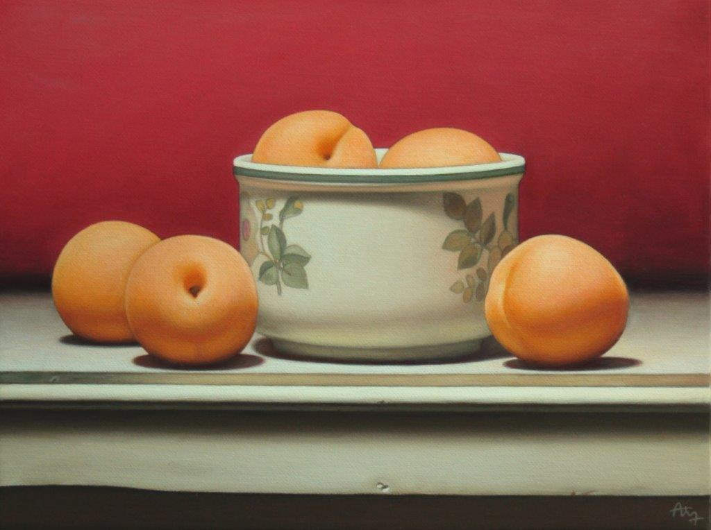 Anthony Ellis original oil on canvas still-life