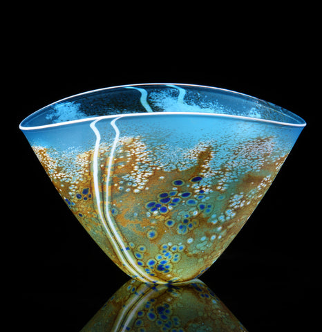 Martin Andrews 'Beach Series V Form Vase' glass (medium shown)