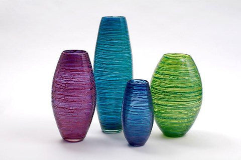 Bob Crooks 'Bound Vases' Glass (photograph by Ian Jackson)
