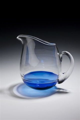 Bob Crooks 'Encalmo Jug' H21cm glass