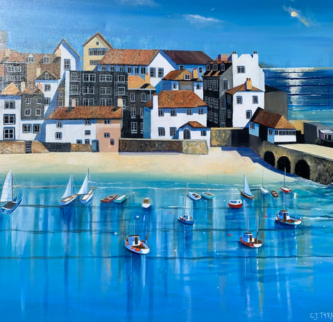 Carolyn Tyrer 'St Ives' Ltd edition print A2 (42x59cms)