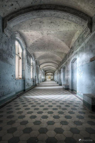 Daan oude Elferink 'Blue Corridor V' 60x40cm ltd ed photograph, 16 of 18