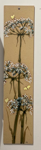 Alan & Lyn Newton 'Wall plaque' H54cm W12cm