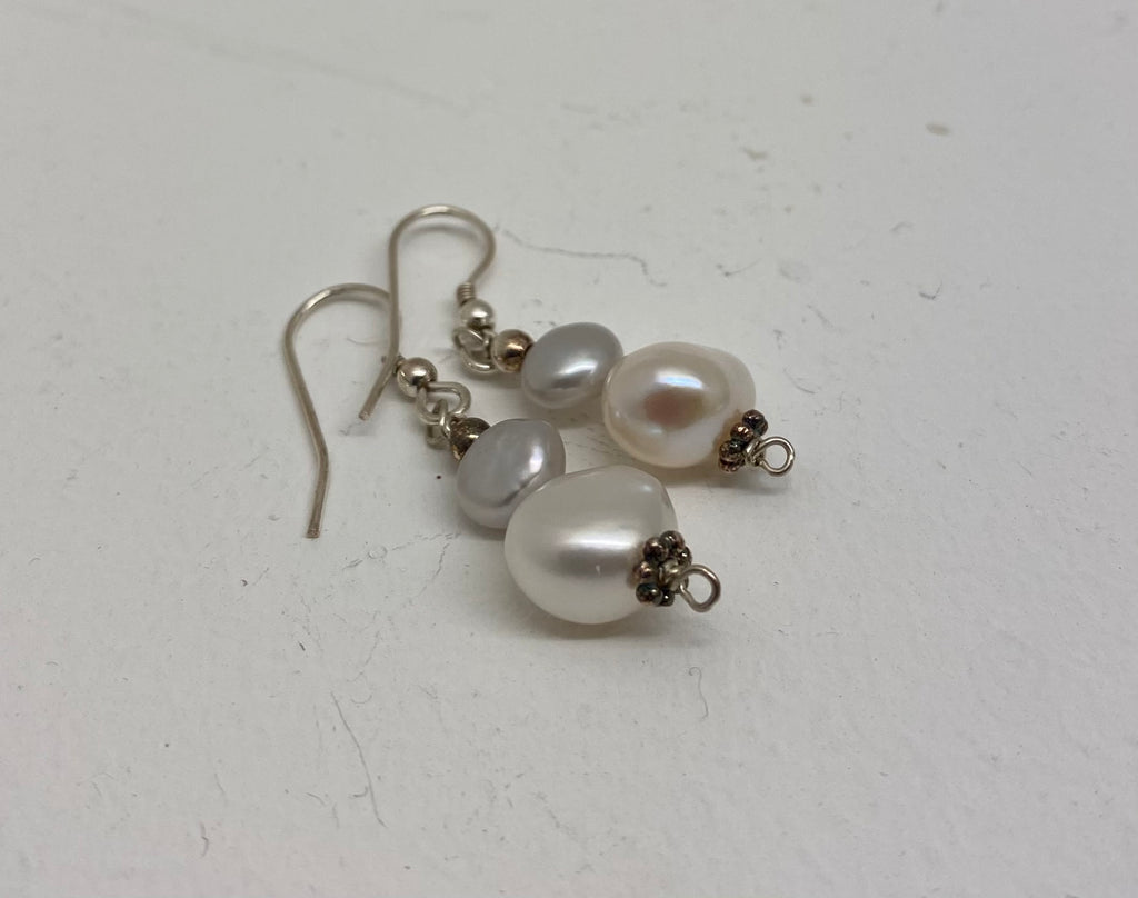 Sandra Pennell, Fresh Water Pearl earrings