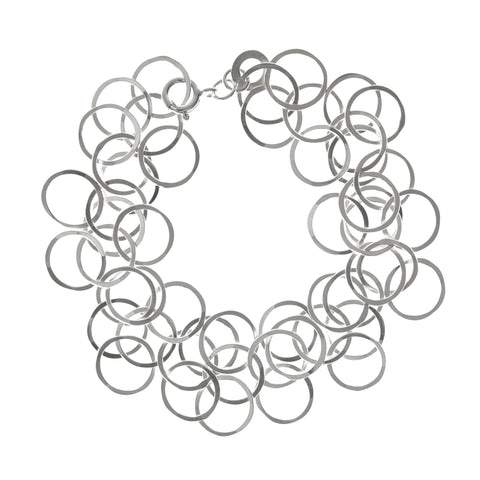 Joanne Thompson 'Bay loop bracelet' in silver