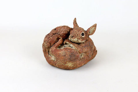 Julie Wilson 'Squirrel' ceramic 11x14.5x9.5cm