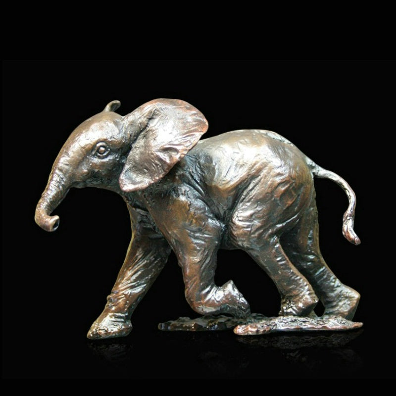 Michael Simpson limited edition bronze elephant sculpture