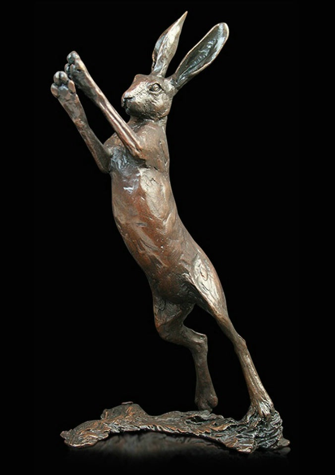 Michael Simpson 'Cat Sitting' Height 7.5cm Limited Edition of 150 Solid bronze