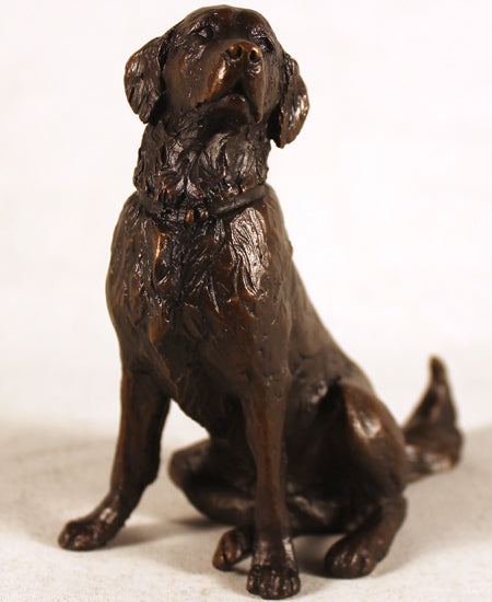 Michael Simpson limited edition bronze sculpture dog