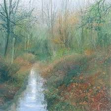 Paul Evans 'Woodland Stream' limited edition print 35 of 95 (unframed)