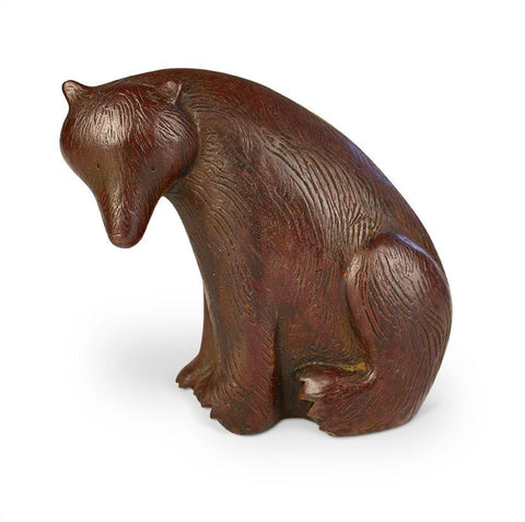 Paul Smith 'Seated Bear' iron resin 11x11cm