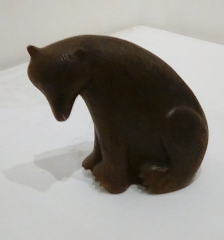 Paul Smith 'Seated Bear' iron resin 12cms H £195
