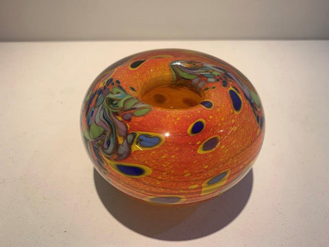 Peter Layton 'Klimt Small Bowl' glass  9x13x13cm