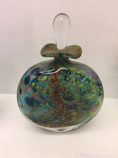 Peter Layton 'Reef Perfume Bottle' H17.5cm Glass