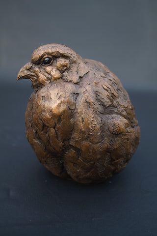 Simon Griffiths 'Female Partridge' cold cast bronze
