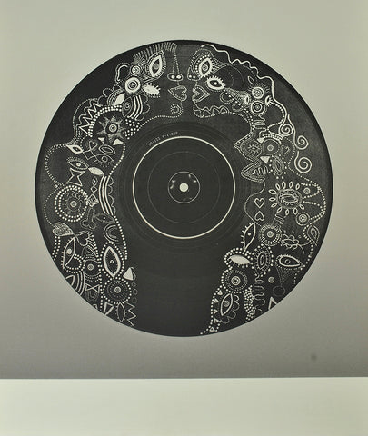 Trevor Price '12 Vinyl lovers (side a)' limited edition etching