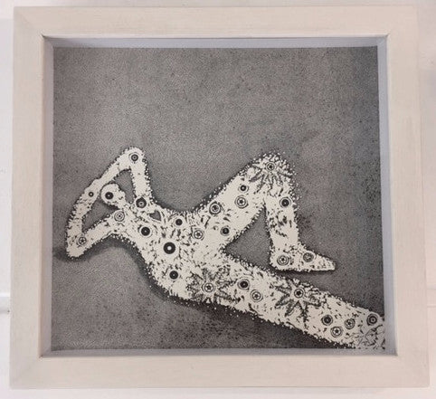 Trevor Price 'Time Spent Wasting Time' Drypoint Relief Limited Edition