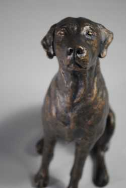 April Young 'Welcome Home' Bronze Resin edition of 50 21x16x9cm