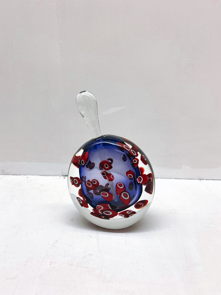 Bob Crooks  'Hula perfume bottle' glass 17x5x11cm