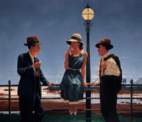 Jack Vettriano 'Game of Life' limited edition silkscreen print 62/295 40.6 x 50.8 cm