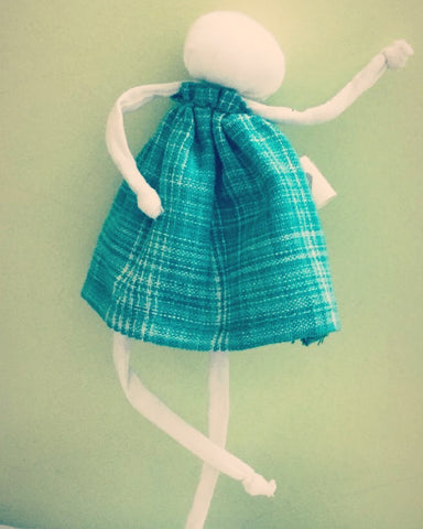 WAtaday! - from an upcycled doll!