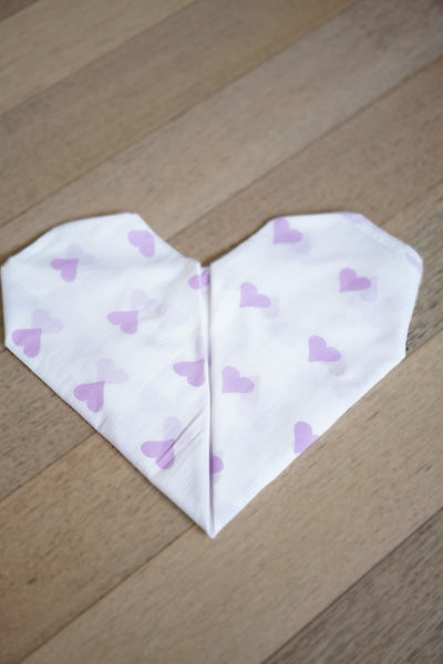 'Grace' Organic Cotton Swaddle in Lilac