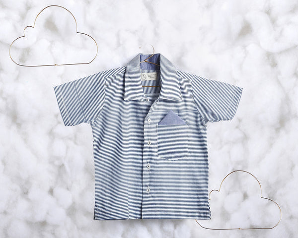 'A Rainy Day' short sleeve shirt