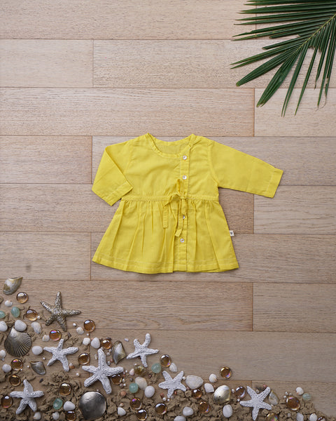 'Joys of Spring' with Sleeves - Girls (0-6 months)
