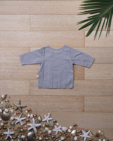 'Over the Moon' with Sleeves - Unisex (0-6 months)